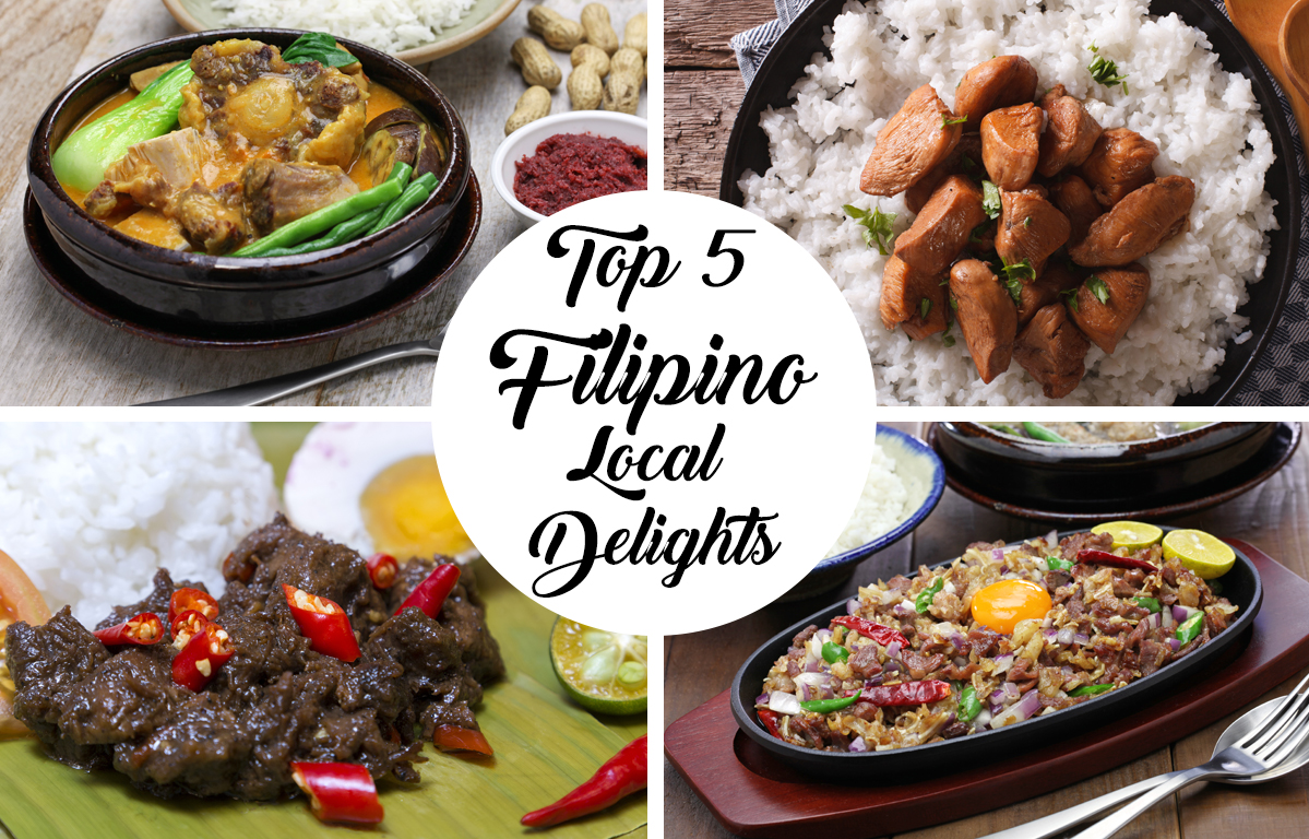 Top 5 Filipino Local Delights