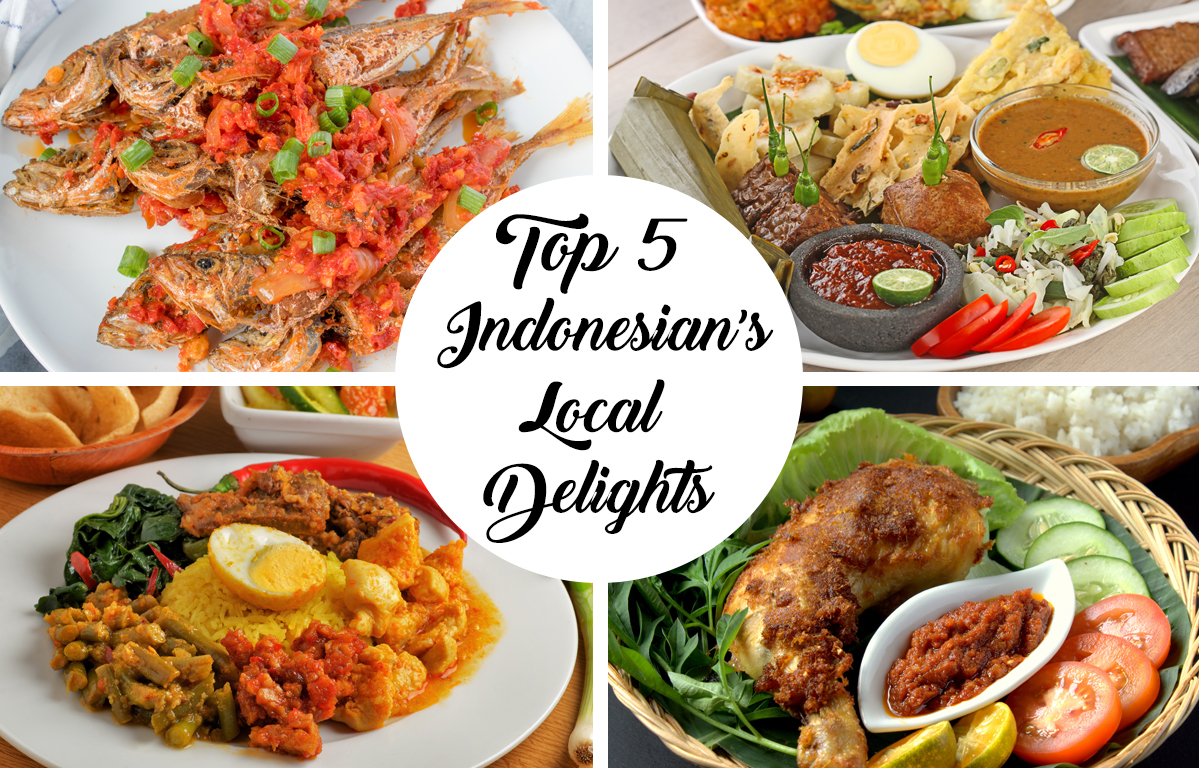 Top 5 Indonesian Local Delights