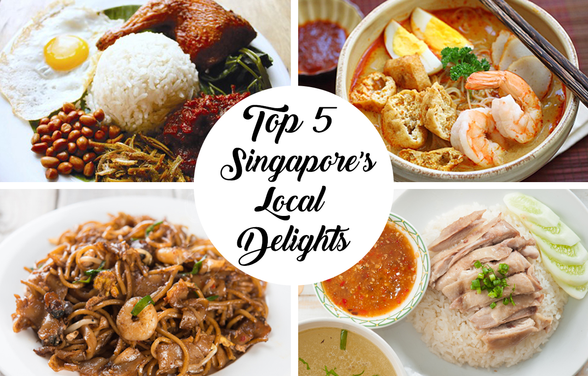 Top 5 Singapore Local Delights