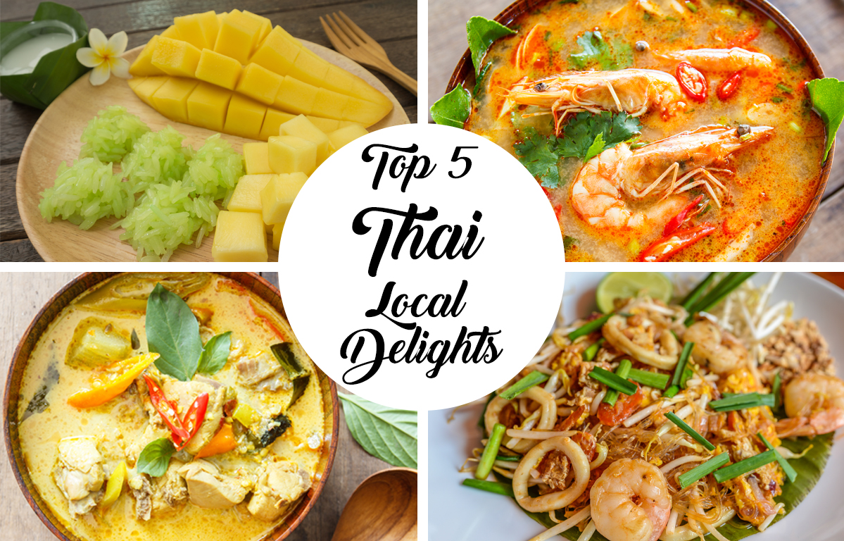 Top 5 Thai Local Delights