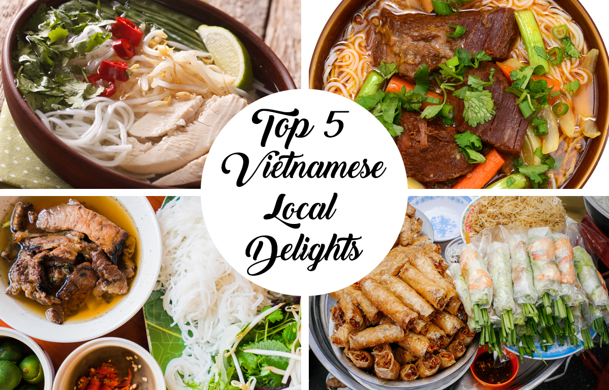 Top 5 Vietnamese Local Delights