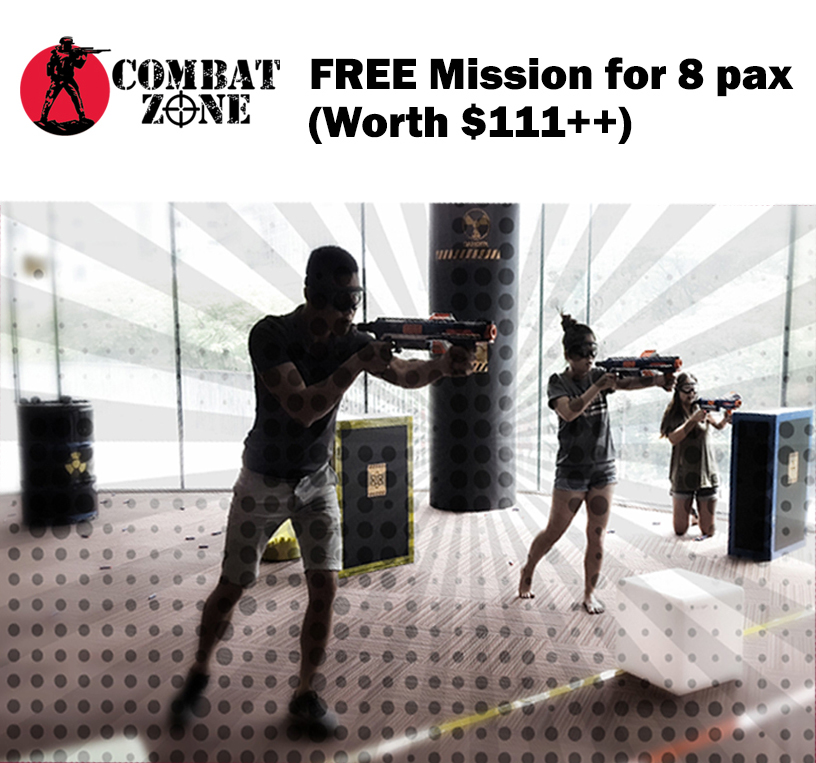 Combat Zone Mission For 8 Pax