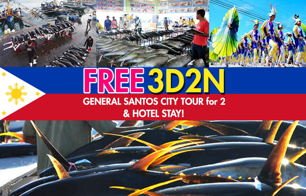 General Santos City Tours Giveaway 2017
